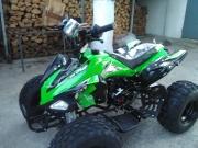 ATV 110cc с 8 цолови гуми,километраж и дискови спирачки