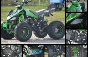 125cc ATV Speedy 3G8 Полуавттик 3+1 скорости