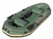 Bestway Надуваема трипластова лодка Voyager 1000 -65056