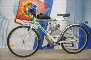 Велосипед с монтиран двигател 50сс ,2т