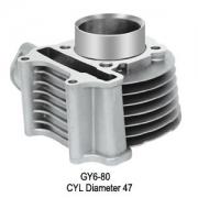 само цилиндър Gy6 80cc