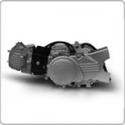 двигател 110сс,4такт за мотопед  с 4 скорости полуавтоматик