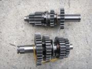 скорости  за кросов мотор 110-125сс  4 скорости