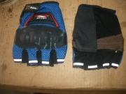 ръкавици с пластмасови протектори на кокалчетата