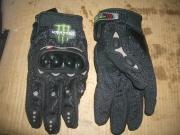 ръкавици с пластмасов протектор