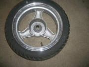 джанта задна 3,5х12 к-т с гума