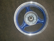 задна джанта син цвят  3,5 х13 цола китаиски скутер 125-150сс