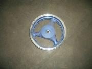 джанта задна за цкутер барабан 3,5х12 в син цвят