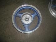 джанта задна 3,5х13 за барабан 130мм  в син цвят