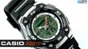 Риболовен часовник Casio Fishing GaerAQW-101-1AVER