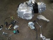 двигател за мотопед 110сс 4 полуатоматични скорости к-т оборудва