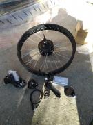 Електрически комплект за велосипед 26 цола36-48болта 350W  дебел