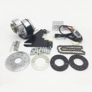 Двигател електрически к-т за велосипед 24 волта 350 вата