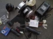 Електрически к-т за велосипед пълен к-т +фар и зариядно 24 волта