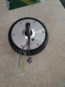 Електромотор к-т+гума 6,5 цола 36 волта за Хобърборд