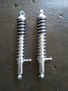 Амортисори задни за MZ-125-150-250cc 34 см дължина от дупка до д